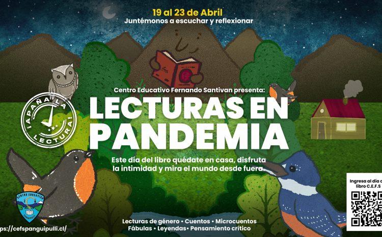 Semana del Libro 2021: Lecturas en Pandemia